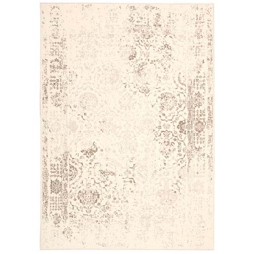 Glistening Nights Ivory Rectangular: 3 Ft 9 In x 5 Ft 9 In Rug