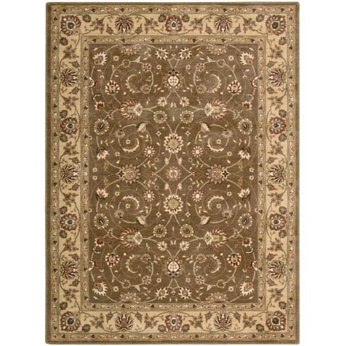 Nourison Somerset Taupe Rectangular: 5 Ft. 6 In. x 7 Ft. 5 In. Rug