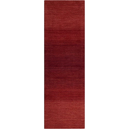 Linear Glow Watercolor Sumac Runner: 2 Ft. 3 In. x 7 Ft. 6 In. Rug