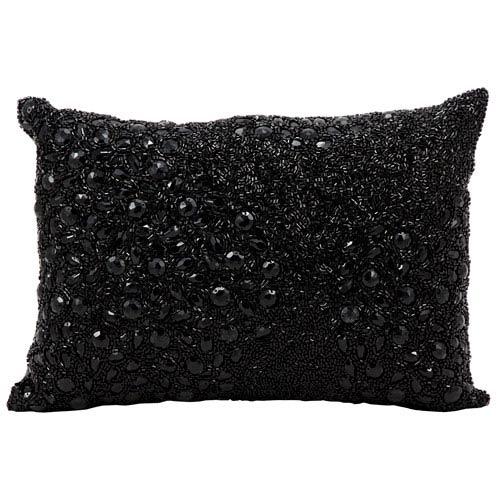 Luminecence Black 10 x 14-Inch Pillow