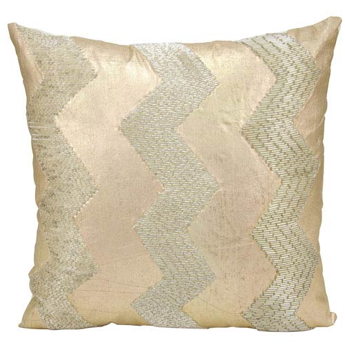 Luminecence Light Gold 16-Inch Pillow