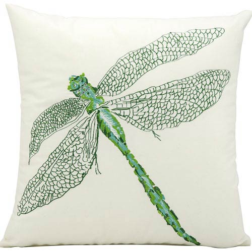 Green 16-Inch Outdoor Pillow