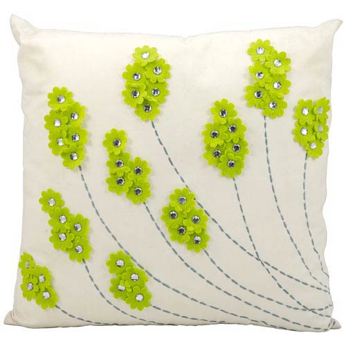 Apple Green 20-Inch Outdoor Pillow