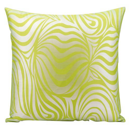 Green 18-Inch Outdoor Pillow