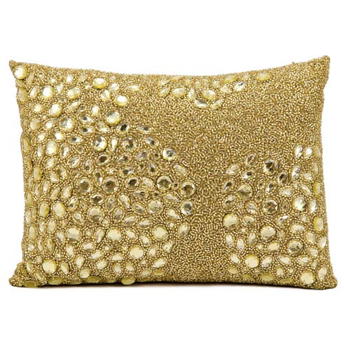 Luminecence Light Gold 10 x 14-Inch Pillow