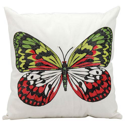 White 18-inch Outdoor Pillow