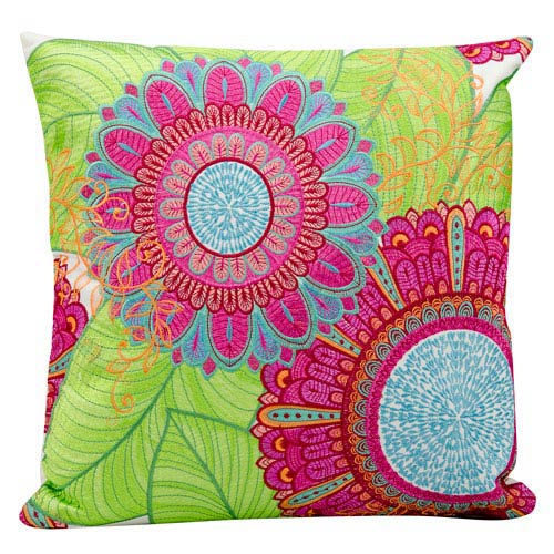 Multicolor 18-Inch Outdoor Pillow