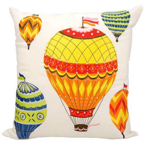 Multicolor 20-Inch Outdoor Pillow