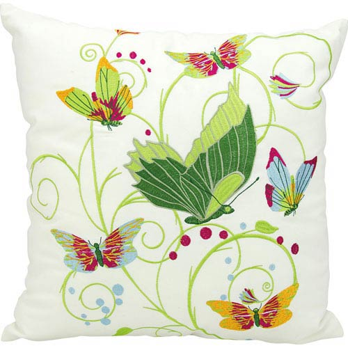 Multicolor 20-Inch Outdoor Pillow