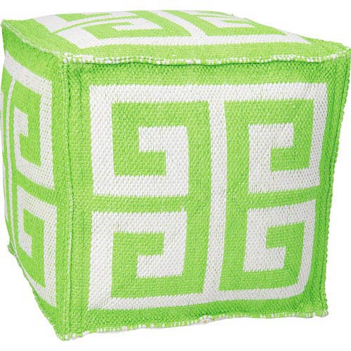 Green 20-Inch Outdoor Pillow