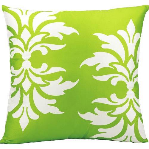 Green 20-Inch Outdoor Pillow