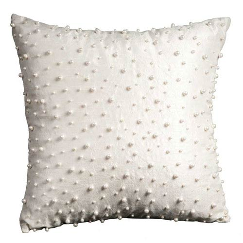 Lumin Random Pearls Ivory 16-Inch Pillow