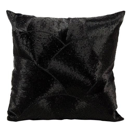 Luminecence Black 20-Inch Pillow