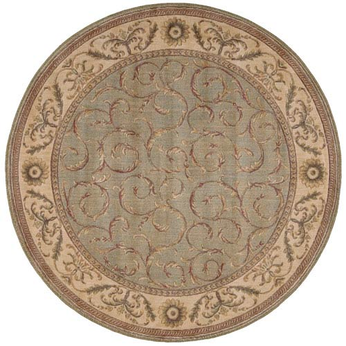 Nourison Somerset Meadow Round: 5 Ft. 6 In. Rug