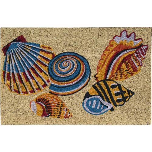 Nourison Greetings Multicolor Rectangular: 1 Ft. 6-Inch x 2 Ft. 4-Inch Rug