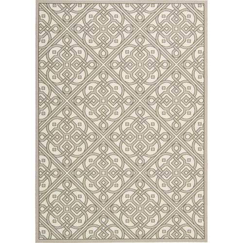 Nourison Sun And Shade Multicolor Rectangular: 5 Ft. 3-Inch x 7 Ft. 5-Inch Rug