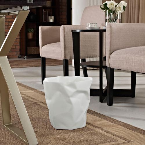 Modway Furniture Lava Trash Bin in White