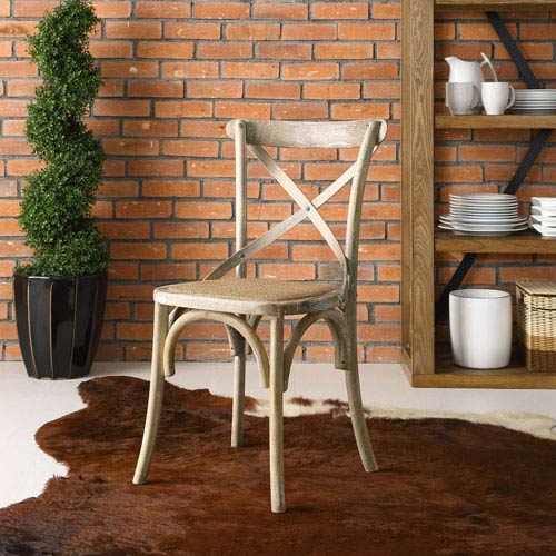 Gear Dining Side Chair in Gray