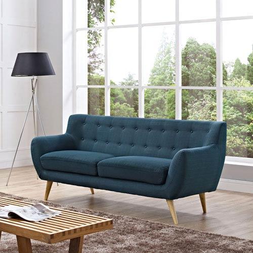 Remark Sofa in Azure