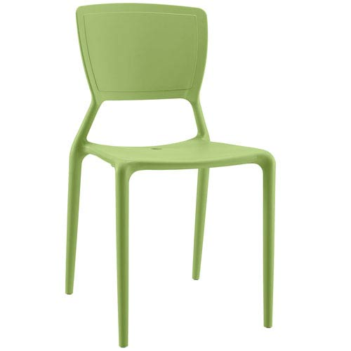Fine Dining Side Chair in Green