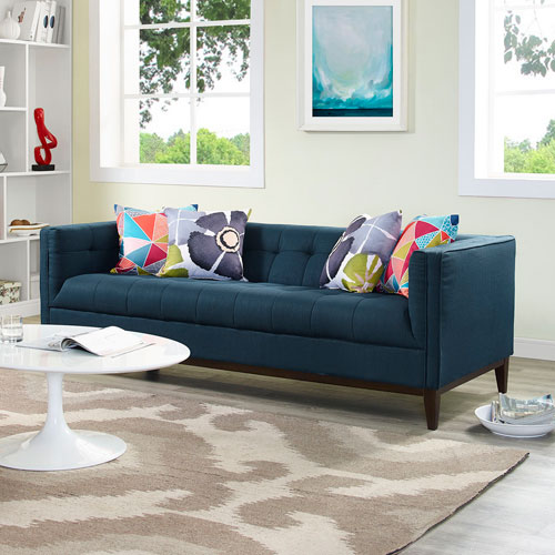 Serve Sofa in Azure