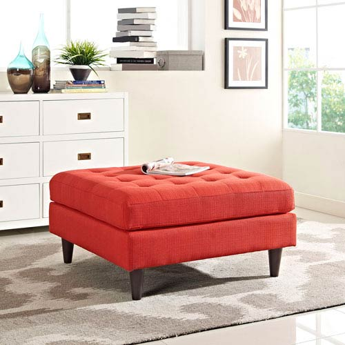 Empress Bench in Atomic Red