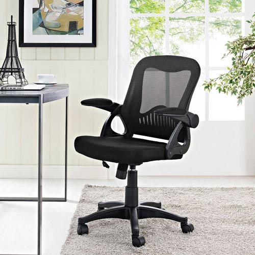 Modway Furniture Advance Office Chair in Black