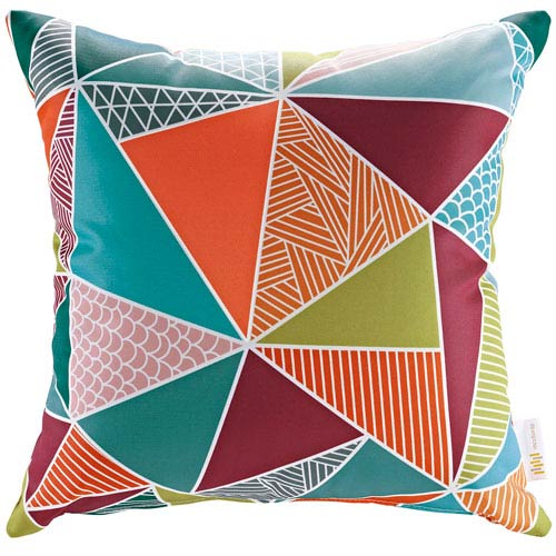Outdoor Patio Pillow in Mosaic