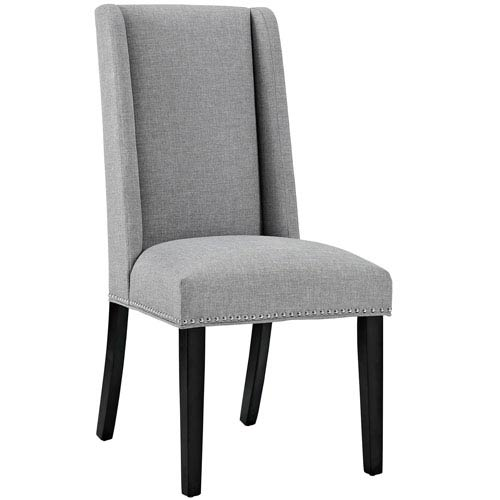 Fantastic Baron Fabric Dining Chair In Light Gray Gmtry Best Dining Table And Chair Ideas Images Gmtryco