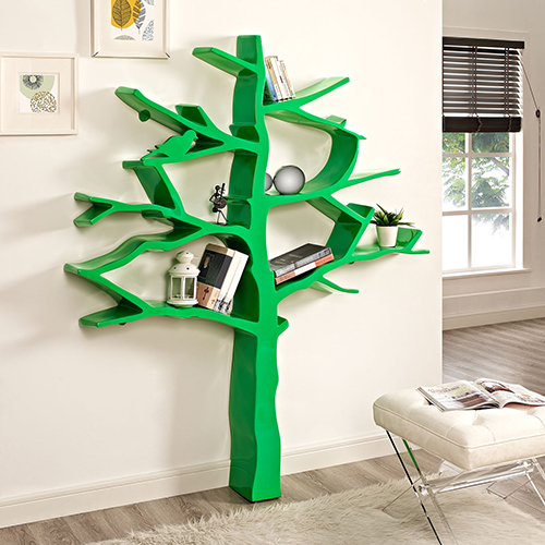 Knowledge Bookcase in Green