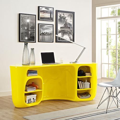 Impression Desk in Yellow