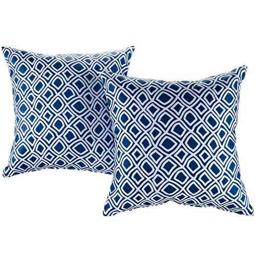 Two Piece Outdoor Patio Pillow Set in Balance