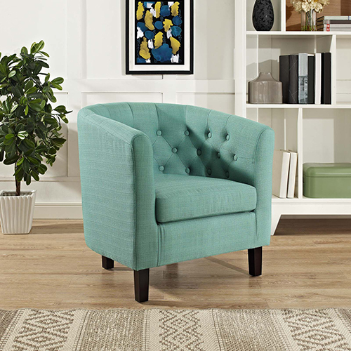 Modway Furniture Prospect Upholstered Armchair in Laguna