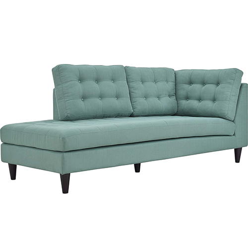 Modway Furniture Empress Upholstered Fabric 	Chaise in Laguna