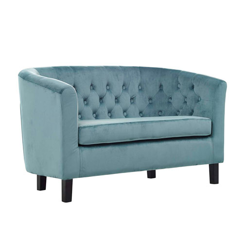 Modway Furniture Prospect Velvet Loveseat