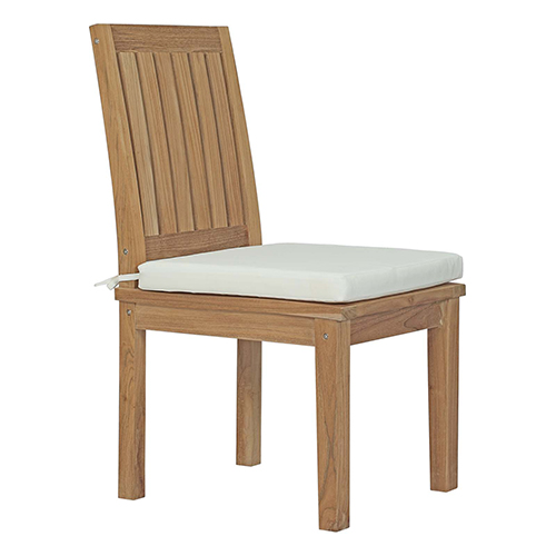 Modway Furniture Marina Outdoor Patio Teak Dining Chair In Natural