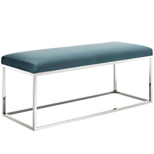 Modway Furniture Gaze Fabric Bench