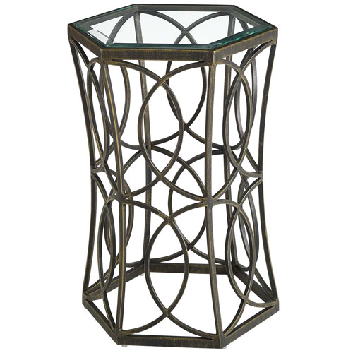Circle 15.5-Inch Side Table