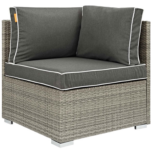 Modway Furniture Repose Outdoor Patio Corner