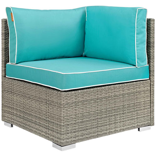 Modway Furniture Repose Outdoor Patio Corner