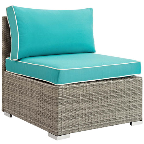 Modway Furniture Repose Outdoor Patio Armless Chair