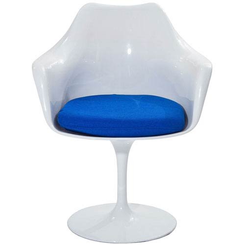 Modway Furniture Lippa Dining Chair in Blue