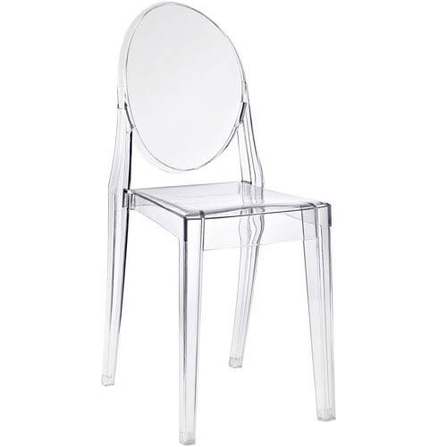 Casper Dining Chair in Clear