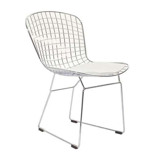 Modway Furniture CAD Dining Chair in White