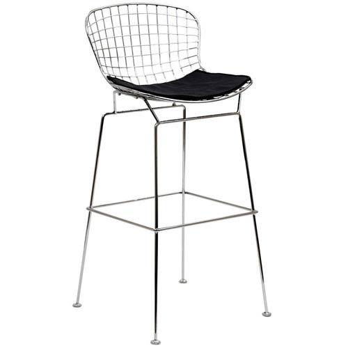 Modway Furniture CAD Bar Stool in Black