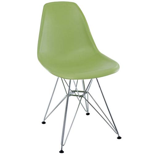 Modway Furniture Paris Dining Chair in Green