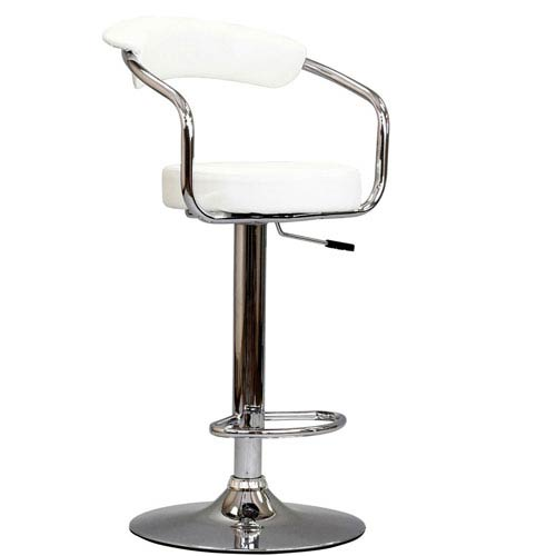 Modway Furniture Diner Bar Stool in White