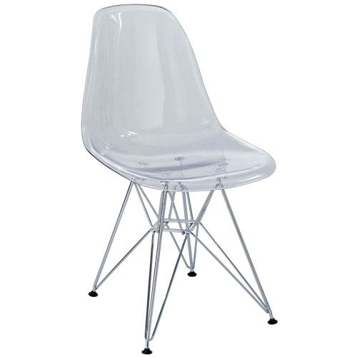 Eiffel Dining Chair in Clear