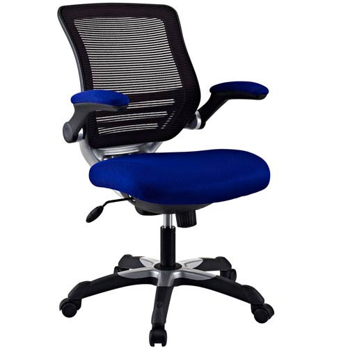 Modway Furniture Edge Office Chair in Blue