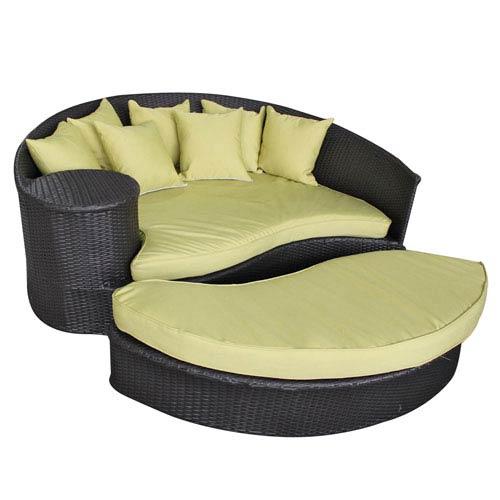 Modway Furniture Taiji Daybed in Espresso Peridot